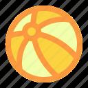 ball, summer, vacation icon