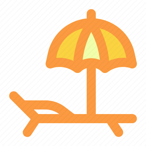 beach, summer, vacation icon