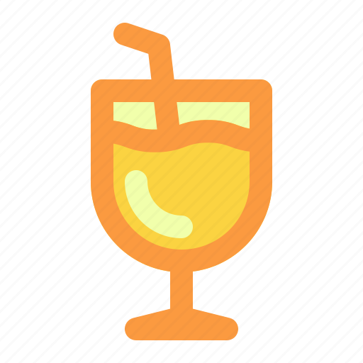 drink, summer, vacation icon