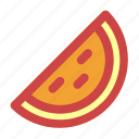 food, fruit, holiday, party, summer, watermelon icon