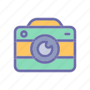 beach, camera, summer, vacation, weather icon