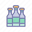 alcohol, beach, summer, vacation, weather icon
