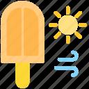 beach, dessert, food, holiday, ice cream, summer, travel icon