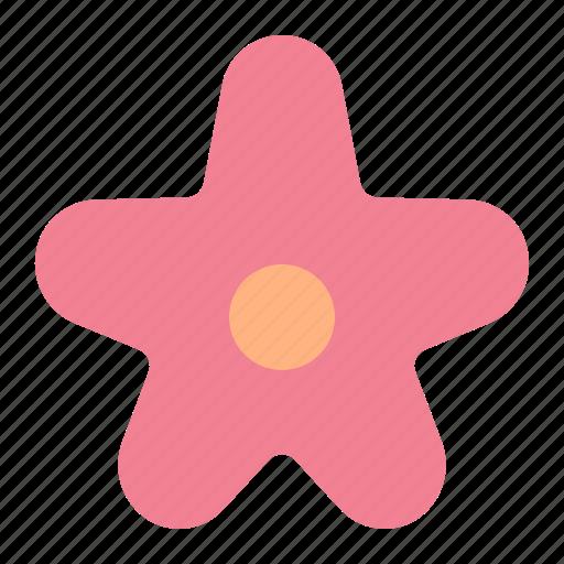beach, sea, starfish, summer, vacation icon
