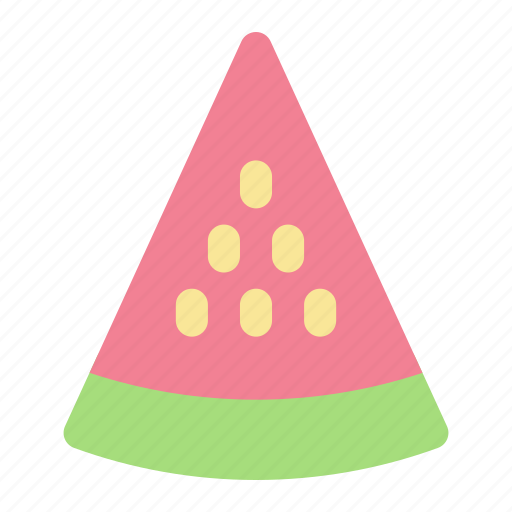 summer, vacation, watermelon icon