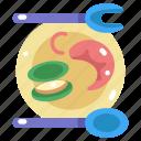 animal, food, sea life, seafood, shellfish, shrimp icon