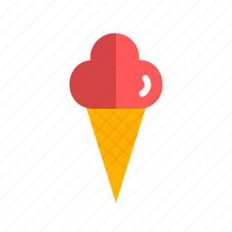 cone, cream, icecream, lolly, summer, sweet icon
