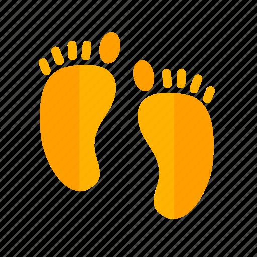 body, feet, foot print, human feet, man, sand, walk icon