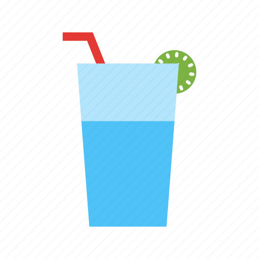 Beach, cocktail, drink, glass, juice, lemon juice, summer icon - Download on Iconfinder
