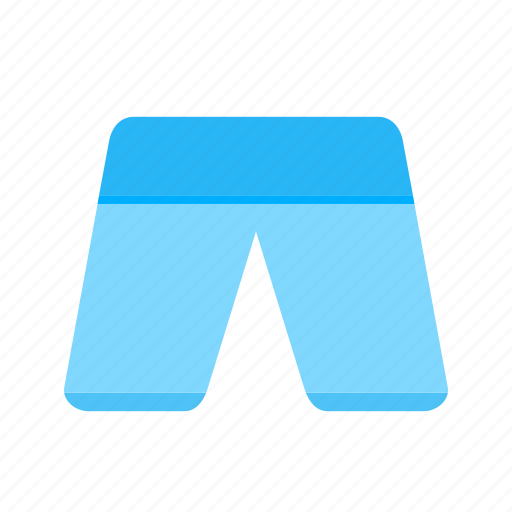 Summer, men's shorts, shorts, wear, trousers, wardrobe, clothes icon