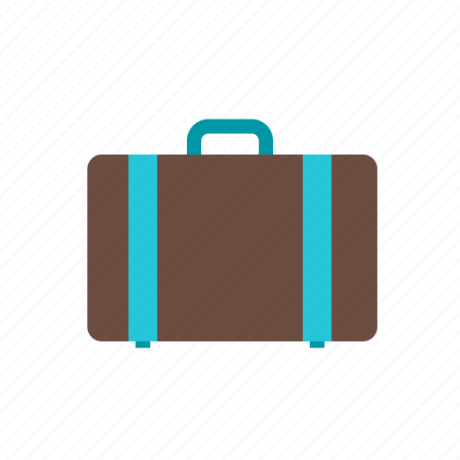 briefcase, holder, suit case, summer, travel, vacation, wardrobe icon