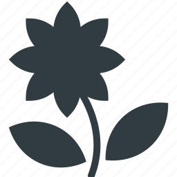 bloom, blooming, blossom, flower, macro flower icon