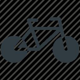 bicycle, bike, cycle, pedal cycle, push bike icon