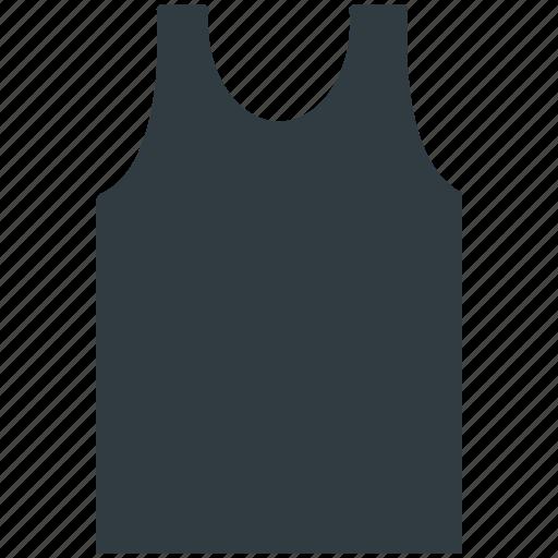Sleeveless shirt, underclothes, undergarment, undershirt, vest icon - Download on Iconfinder