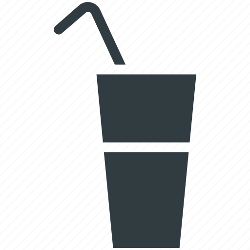 Cold drink, drink, juice, soda water, straw icon - Download on Iconfinder