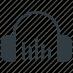 earbuds, earphones, earspeakers, headphone, music accessory icon