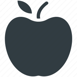 apple, food, fresh food, fruit, healthy diet icon