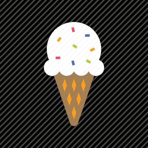 cone, dessert, food, ice, ice cream, summer, sweet icon