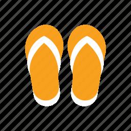 beach, fashion, flip flop, footwear, sandals, slipper, summer icon
