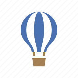 balloon, fly, hot air balloon, sky, summer, transportation, vacation icon