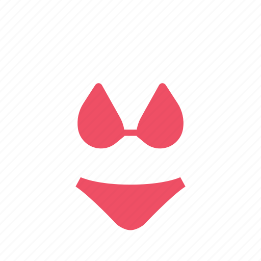 beach, bikini, clothes, fashion, summer, swim, swimsuit icon