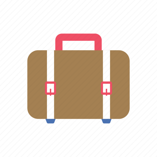 baggage, luggage, suitcase, summer, tourist, travel, vacation icon