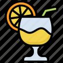 drink, juice, refreshment, glass, summer, lemon, vacation