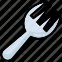 fork, gardening, cutlery, knife, tool, kitchen, restaurant