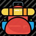 backpack, bag, hiking, rucksack, tourism, travel, camping