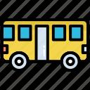 bus, coach, tour, transport, vehicle, public, travel