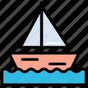 beach, boat, sail, sailing, sports, water, yacht