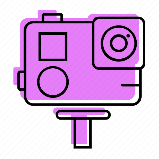 Action cam, beach, camera, go pro, gopro, holiday, sea icon - Download on Iconfinder