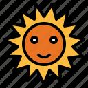 sun, sunny, warm, weather