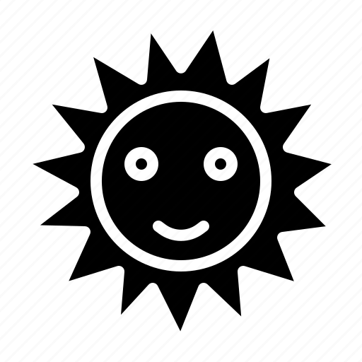 Sun, sunny, warm, weather icon - Download on Iconfinder