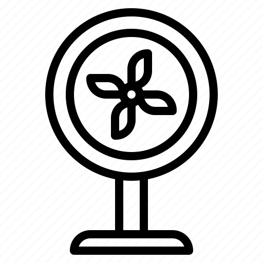 Fan, furniture, household, ventilator icon - Download on Iconfinder
