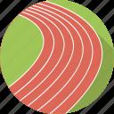 athletics, line, olympic, run, running, sport, stadium, track and field icon