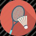 badminton, racket, racquet, shuttle, sport, stuttlecock icon