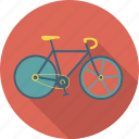 bicycle, bike, cycling, cycling track, exercise, outdoor, speed, sport icon