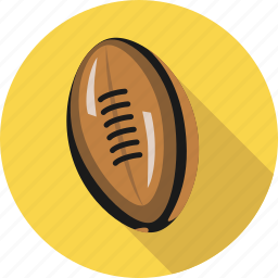 ball, equipment, football, game, rugby, soccer, sport, training icon