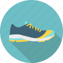 athletics, equipment, exercise, fitness, running, shoe, sport icon