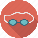 equipment, goggles, sport, sports, swim, swimming icon