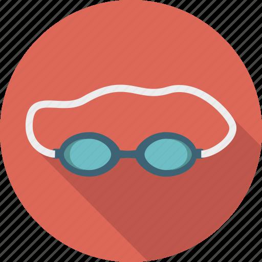 equipment, goggles, sport, sports, swim, swimming icon