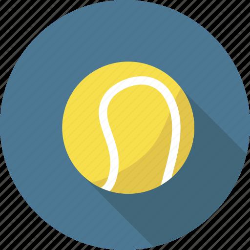 ball, exercise, game, sport, sports, tennis icon