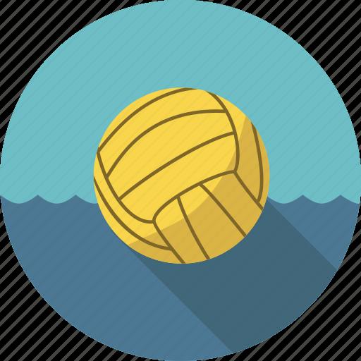 ball, polo, sport, water, water polo, waterpolo icon