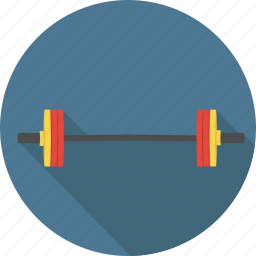 fitness, gym, heavy, sport, sports, training, weight, weightlifting, weights icon