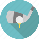 ball, club, game, golf, golf club, sport, stick icon