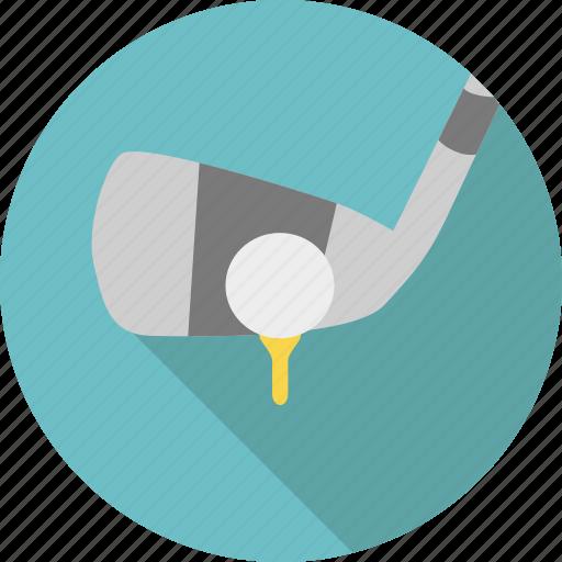 ball, club, game, golf, golf club, sport, stick icon