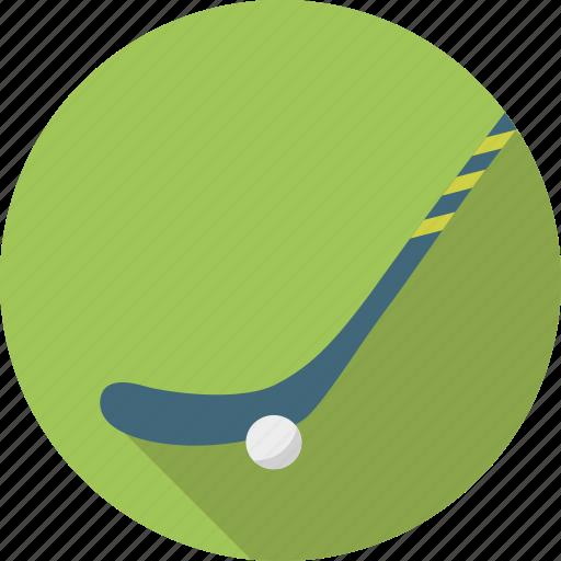 ball, blade, grass, grass hockey, hockey, sport, stick icon