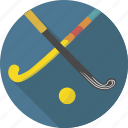 ball, grass, grass hockey, hockey, sport, stick, summer hockey icon