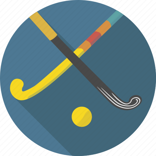 ball, grass, grass hockey, hockey, sport, stick, summer hockey icon